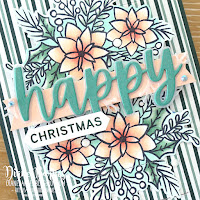Handmade pop up slider card using Stampin Up Words of Cheer stamp set and bundle, Stampin Blends markers & Tidings of Christmas paper. Card by Di Barnes - Indpendent Demonstrator Stampin Up in Sydney Australia - colourmehappy - sydneystamper - 2021 mini catalogue - 2021 annual catalogue