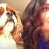 Ana Paula Padrão brinca sobre semelhança com cachorro