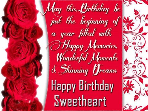 Cute Images of Romantic Birthday Wishes for Husband from Wife – Happy Birthday Greetings for Husband