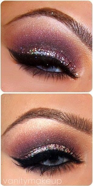 best holiday eyes make up idea