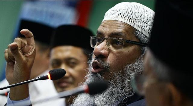 Zakir Naik Sesalkan Pemisahan Agama dengan Politik