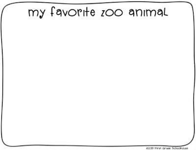 Classroom Freebies: Zoo Field Trip Printables
