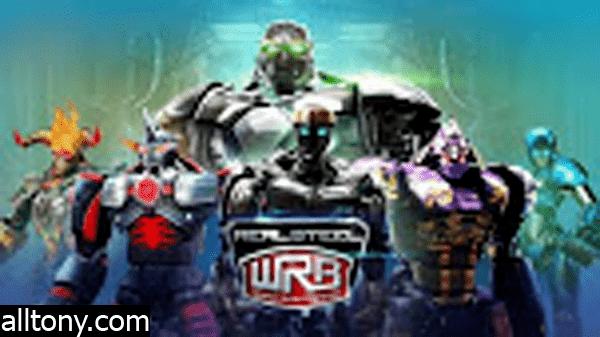تحميل لعبة القتال والأكشن Real Steel World Robot Boxing  للأيفون والأندرويد