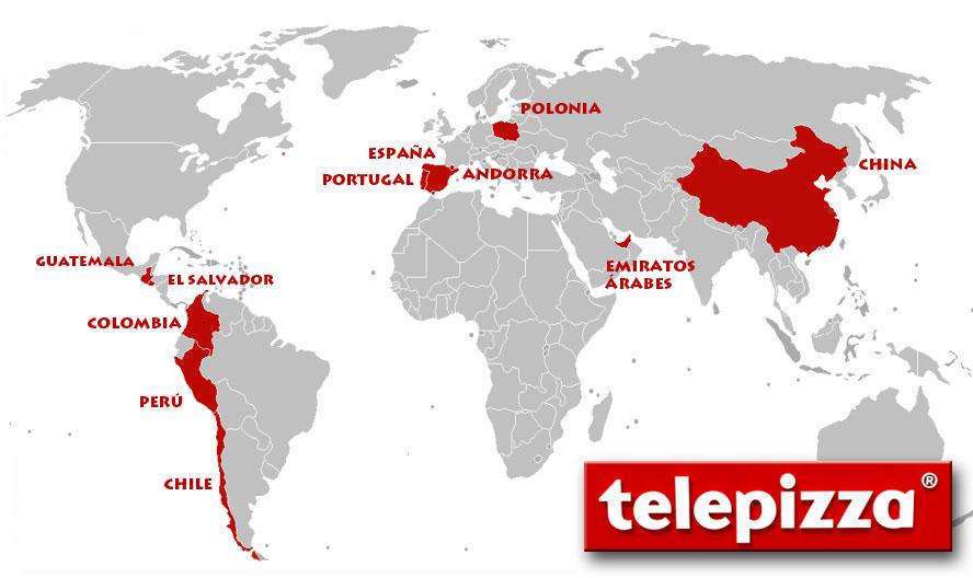 telepizza mapa EMPRESAS: Telepizza, la historia de los