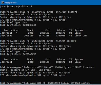 Disk Partitioing Using Fdisk Command | RHEL 7