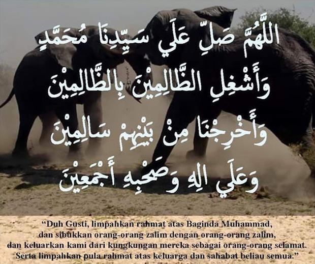 Asal-usul Shalawat Asyghil atau Shalawat 'Mlipir'