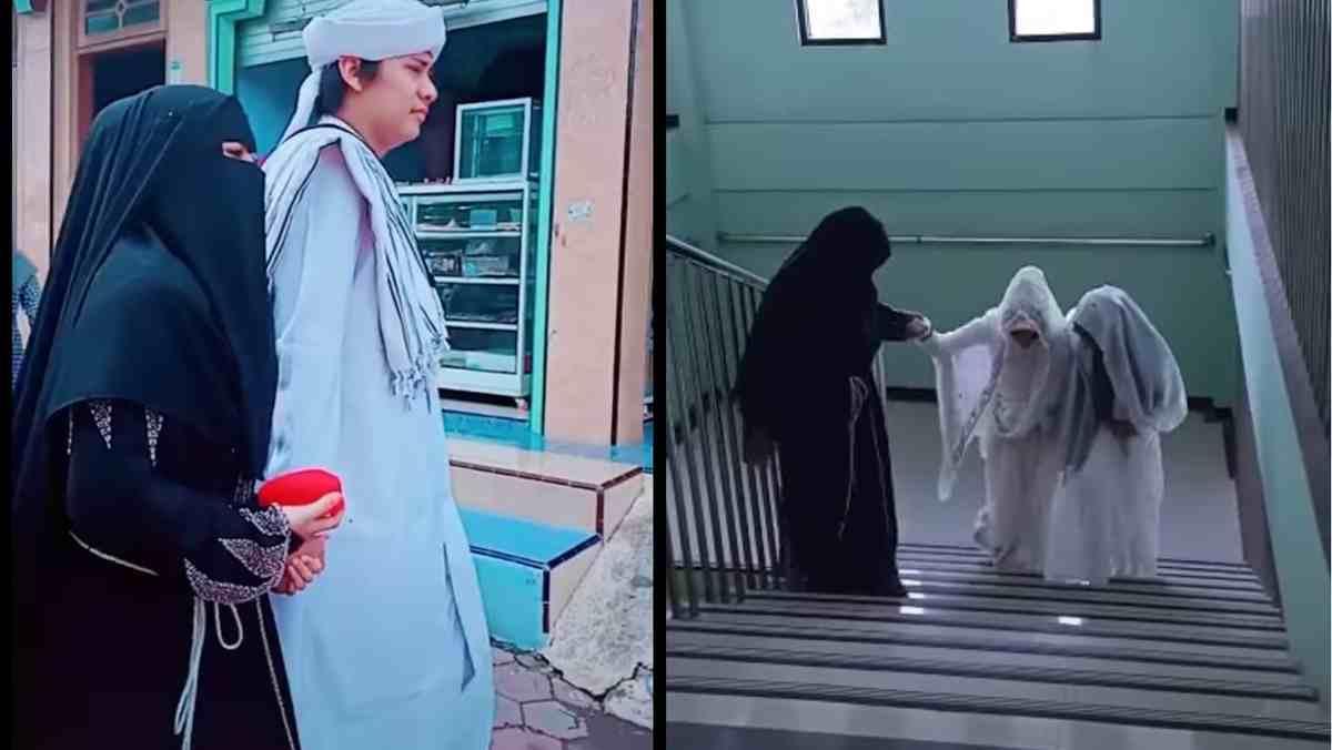 Heboh Istri Antar Suami Poligami, Ternyata Mantan Peserta AKSI Indosiar