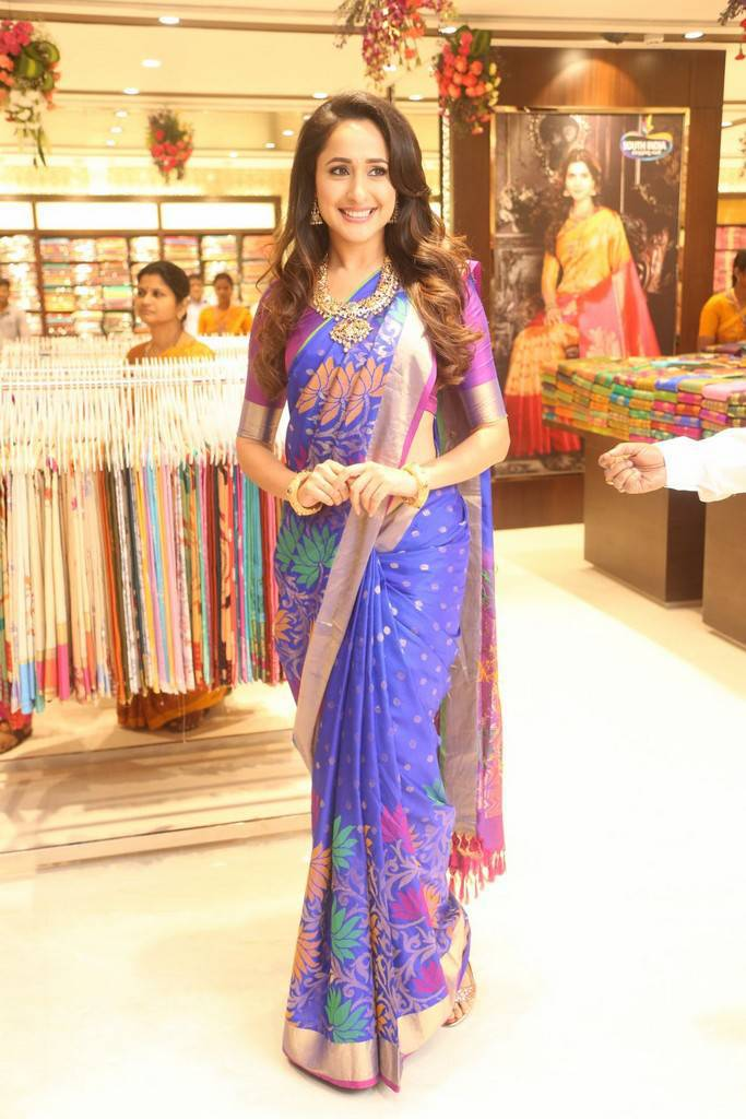 Pragya Jaiswal Photos At South India Shopping Mall Launch