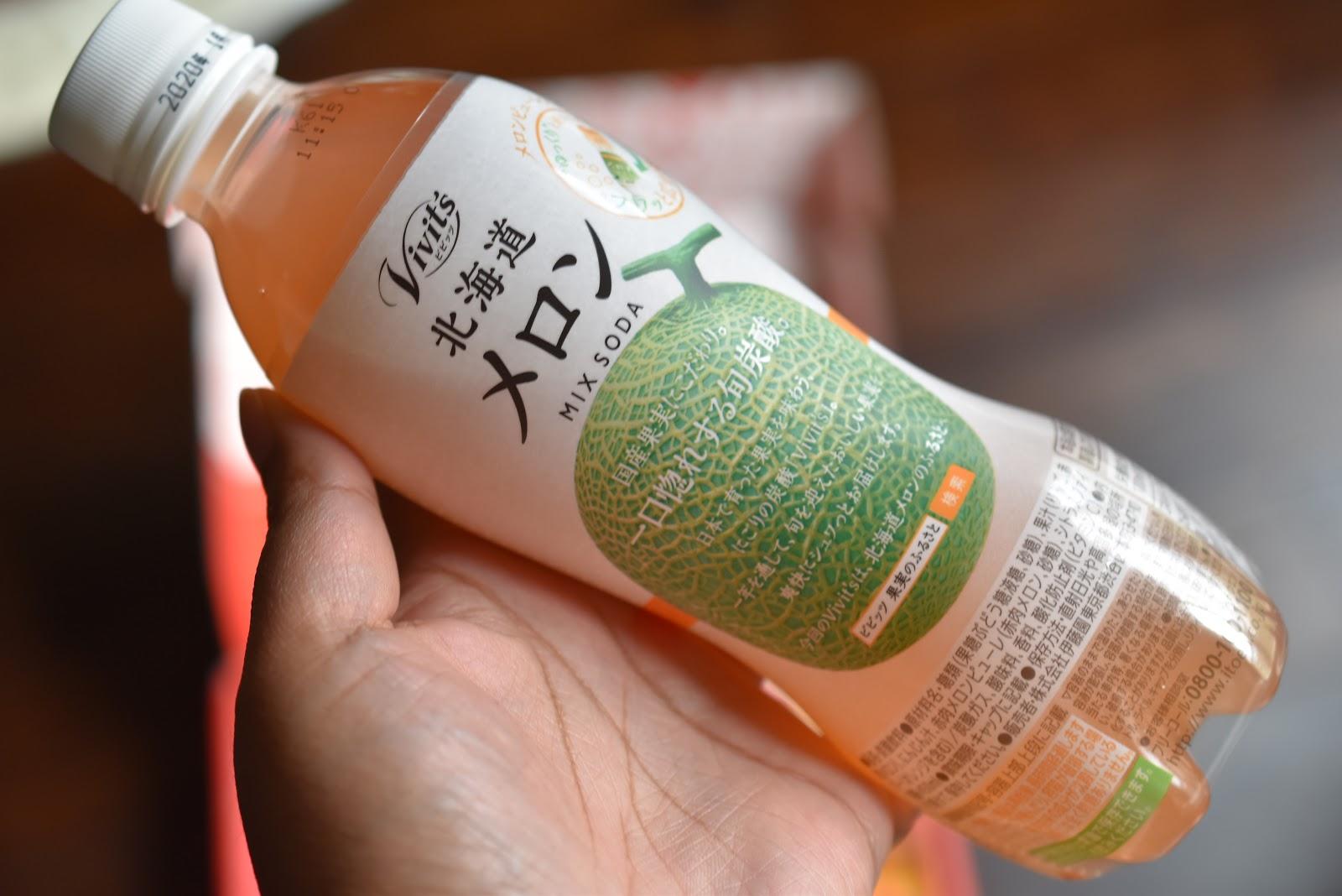 Vivits Hokkaido Melon Mix Soda
