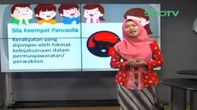 Heboh, Sila Keempat Pancasila Berubah Jadi Logo PDIP