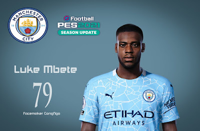 PES 2021 Faces Luke Mbete-Tabu by CongNgo