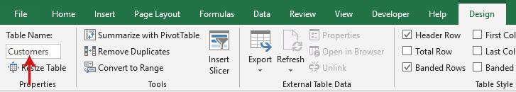 إنشاء علاقة بين جدولين في Excel