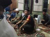"Mulawarman Peduli"" Babinsa Kodim 0910/Malinau Hadiri Safari Ramadhan di Desa Binaannya"