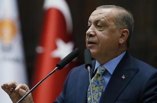وعد أردوغان بإزالة بقايا داعش خلال الأشهر المقبلة