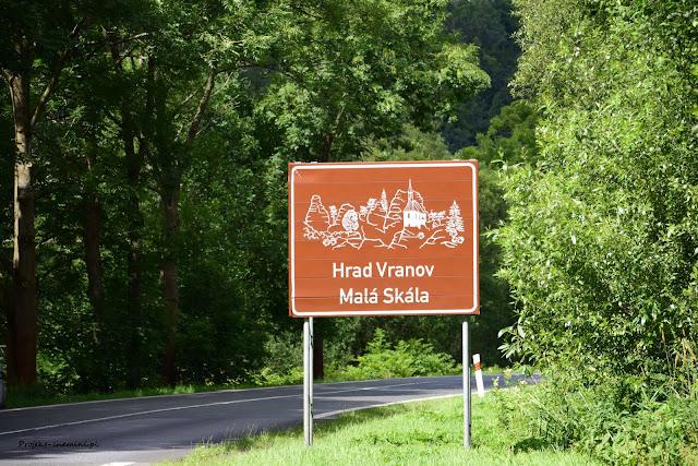 Droga do miejscowości Malá Skála