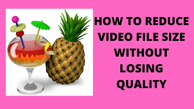 How to reduce video file size without losing quality 1GB-50MB