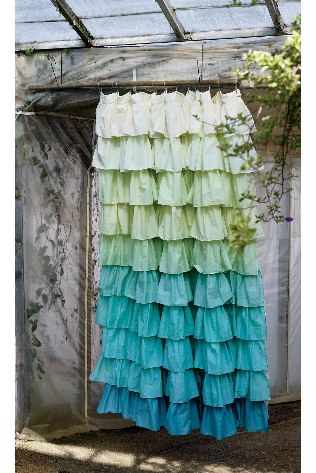 Its Written On The Wall Anthropologie Ruffled Shower