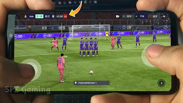 FIFA 21 Android Offline Best Graphics 700 Mb Fixed manager Mode New Menu APK+DATA