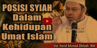 [Video] Posisi Syiah Dalam Kehidupan Umat Islam | Ust. Farid Ahmad Okbah, MA