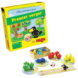 meilleur top jeux de société enfant à partir de 2 ans Haba premier verger