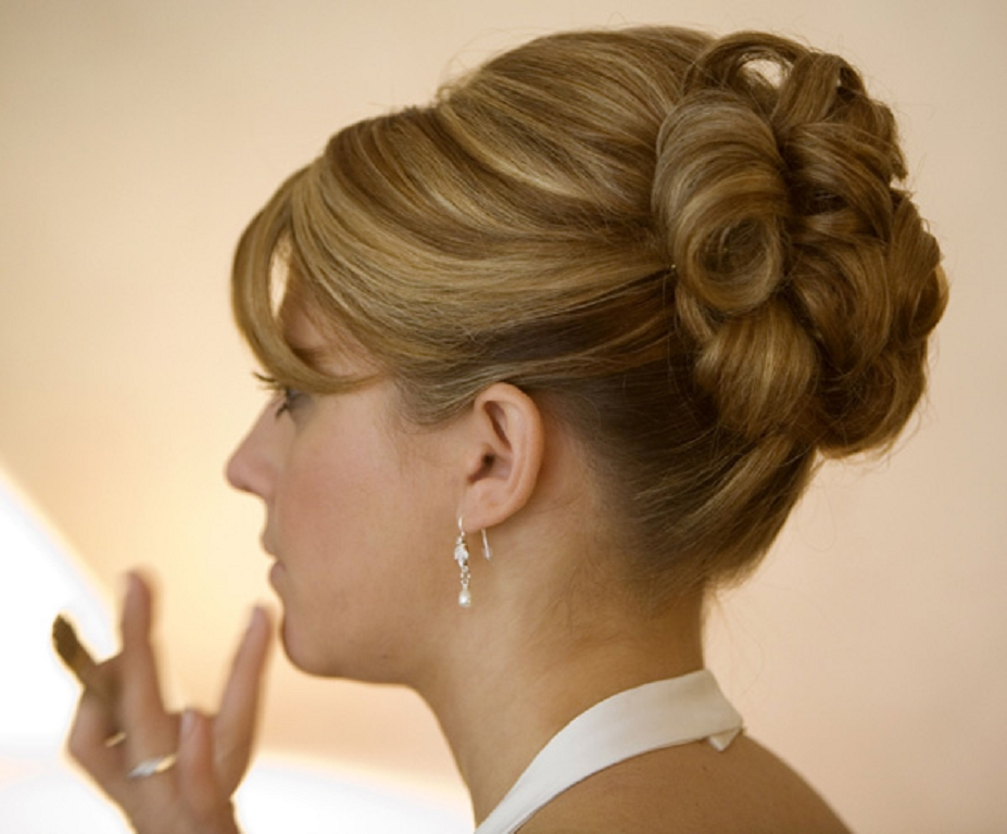 2013 Wedding Hairstyles And Updos: Peinados De Fiesta: 45 Recogidos Para Peinados Medio 2013
