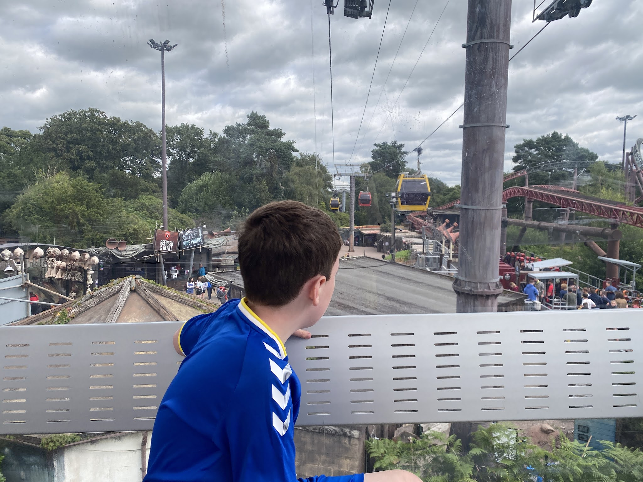 the view from the sky ride
