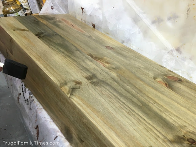 reclaimed wood stain solution