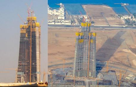 برج جدة (المملكة) - ارتفاعه وتصميمه المعماري والإنشائي وموعد افتتاحه