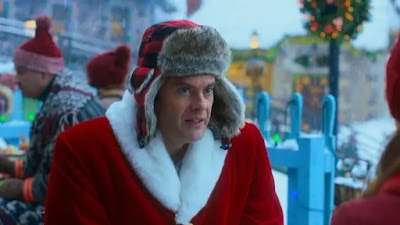 "Bill Hader plays Santa's son, Nick Kringle, in Disney+'s holiday film ""Noelle."""