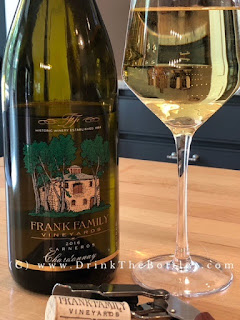 2016 Frank Family Vineyards Carneros Chardonnay label
