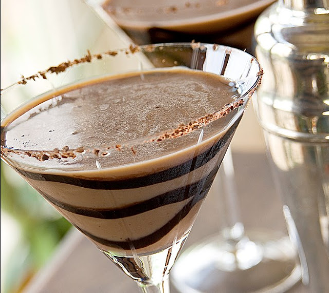 Chocolate Martini's #drinks #alcohol