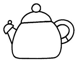tetera dibujos teteras colorear cocina utensilios dibujo kolorowanki kolorowanka infantil kuchenne przybory dibujar imagen uy mentamaschocolate menta chocolate mas recursos