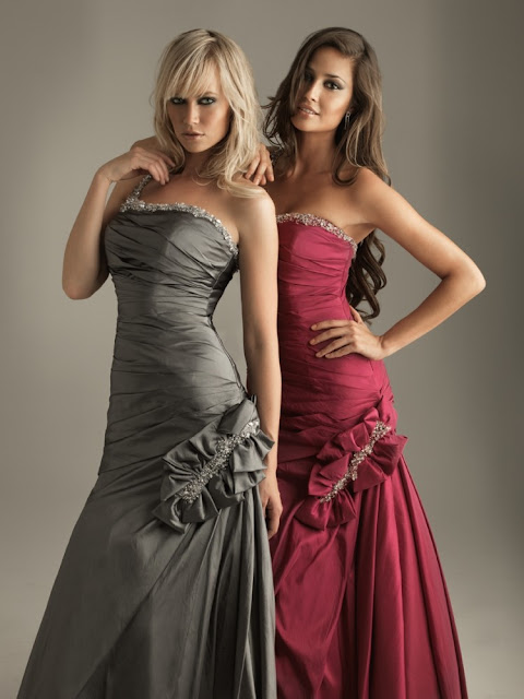 Dresses In Fashion Style: Attractive Prom Dresses 2011