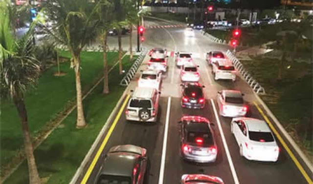 Saudi Moroor to monitor Road Lanes violations in Tabuk, Najran, Qassim and Hail from Tomorrow - Saudi-Expatriates.com