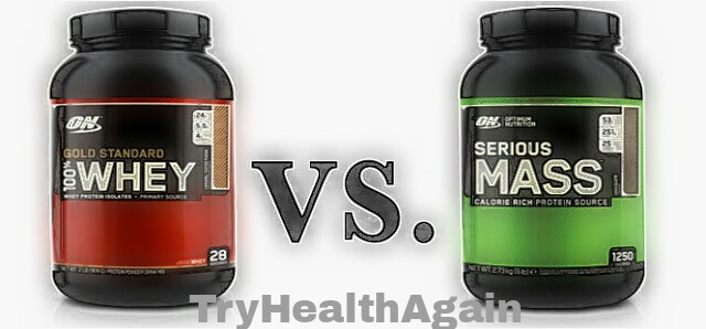 Serious Mass Gainer vs Whey Protein