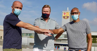Ronald Koeman has officially named Alfred Schreuder and Henrik as his technical staff