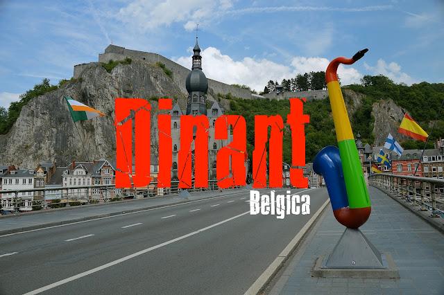 O que visitar em Dinant, Bélgica.