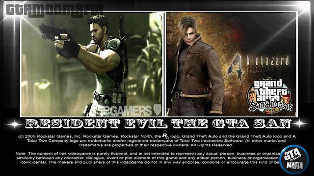 Resident Evil The GTA San Andreas