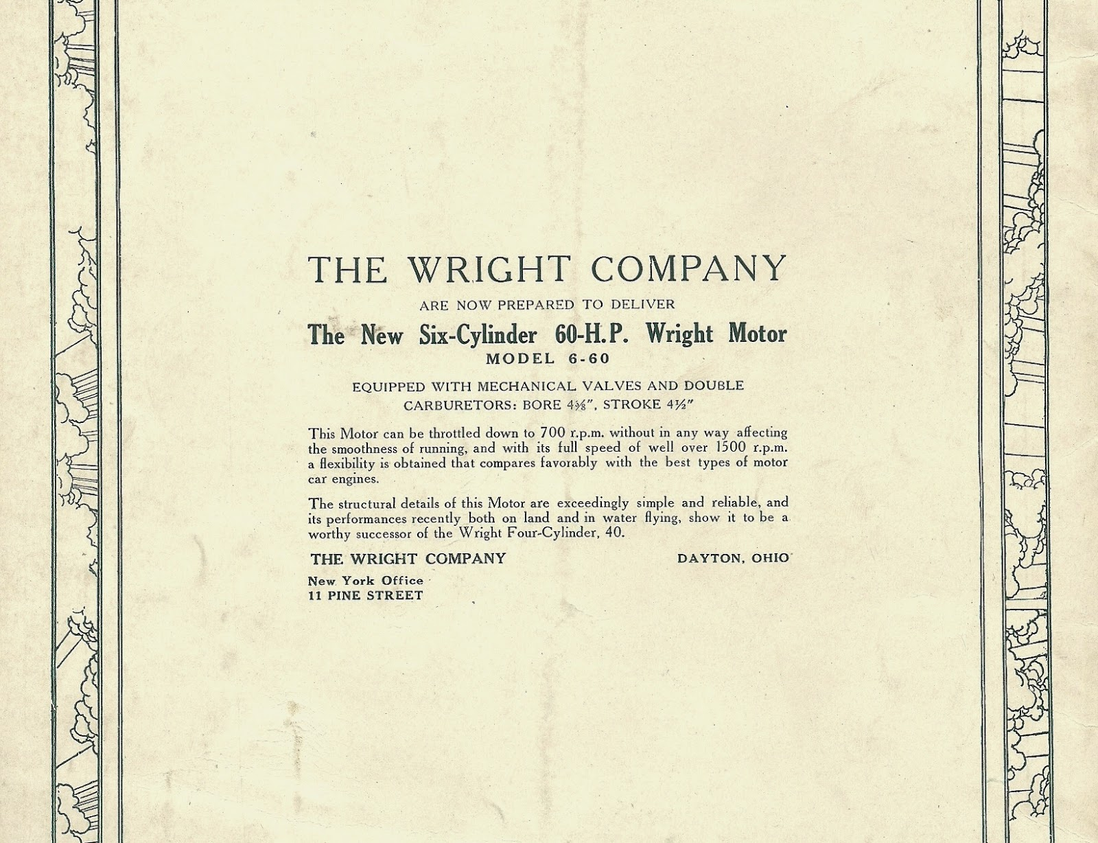 Getting the story wright just how many wright aviation companies rear cover ad on november 1913 issue of flying and the aero club of america bulletin from orville wrights library malvernweather Images