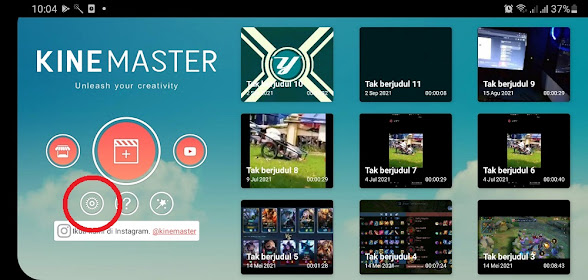 Kemampuan Render Video di Kinemaster