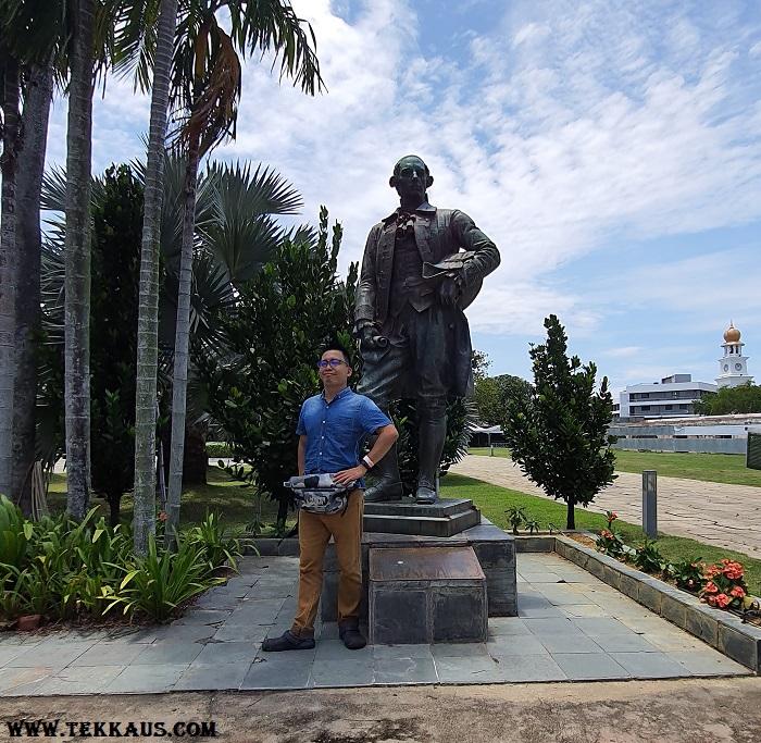 Sir Francis Light Memorial Fort Cornwallis Penang