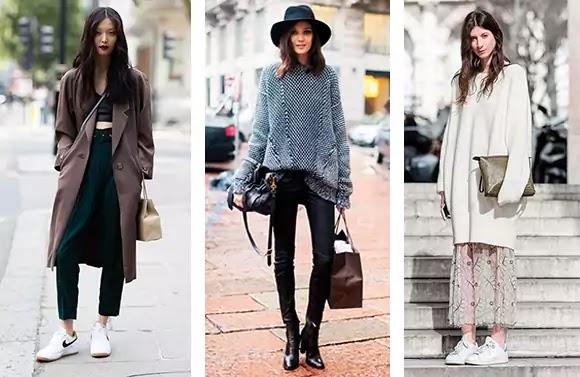 oversize style woman