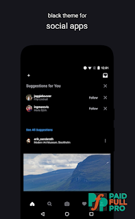 Swift Black Substratum Theme Oreo & Samsung theme latest apk