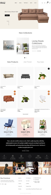 Raz – Furniture Shopify Theme