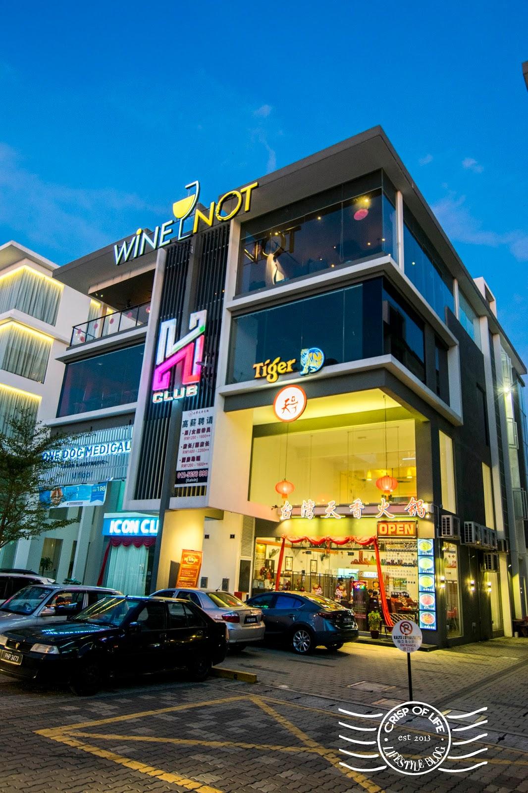 Wine Not Icon City Penang Crisp Of Life