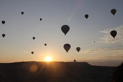 Pemandangan Matahari Terbit