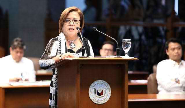 De lima hits Duterte   Kung may utang na loob ka sa CHINA wag mong ipambayad ang dangal ng lahing Pilipino!