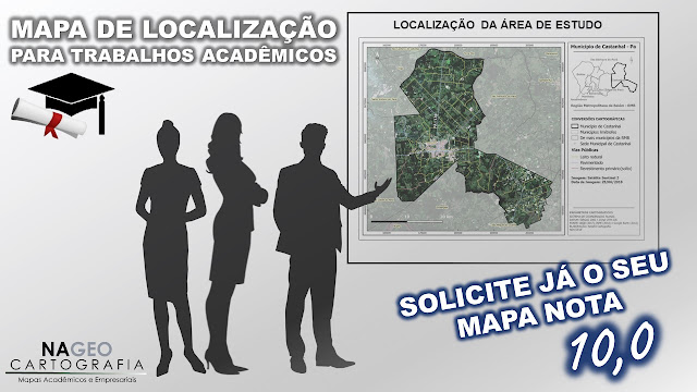 Mapas Acadêmicos em Belém - NAGEO Cartografia