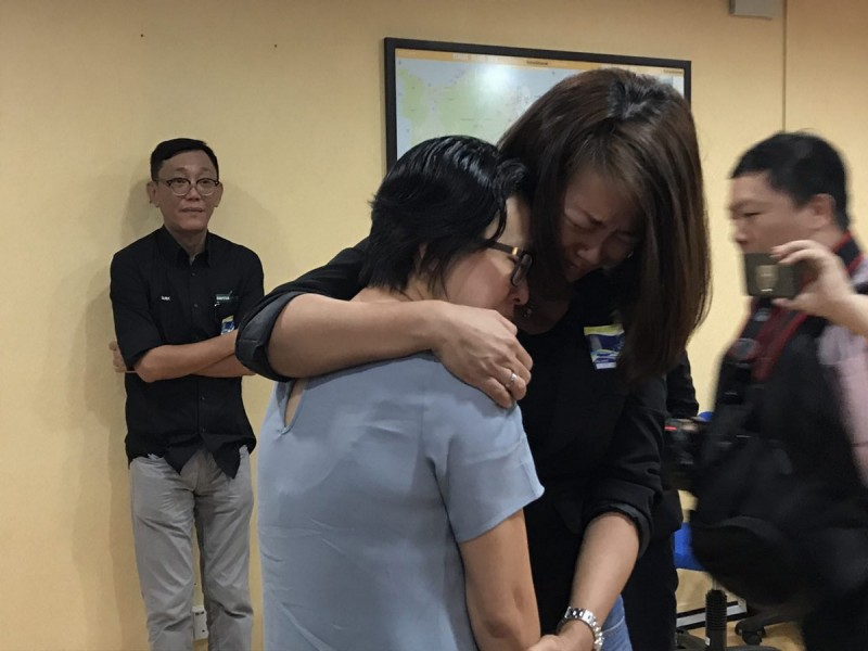 When Ariess Tan met their new 'daughter' Serene Lee, they burst into tears.