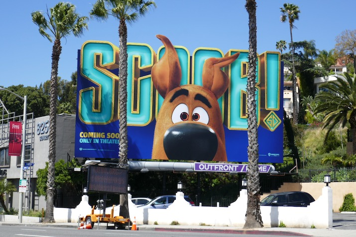 Scoob film billboard